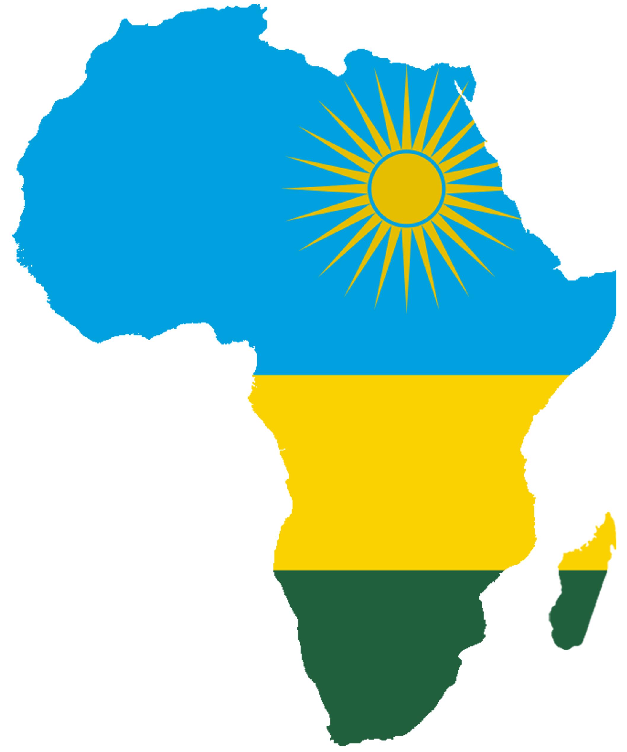 Rwanda drapeau